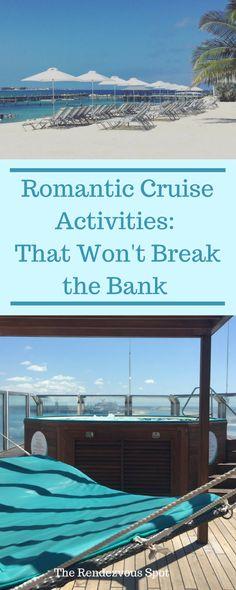 Romantic Cruise Activities: That Won't Break the Bank - The Rendezvous Spot Romantic Vacations, Best Vacations, Romantic Travel, Romantic Destinations, Romantic Getaways, Travel Destinations, Marriage Romance, Cruise Tips, Cruise Travel
