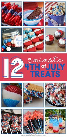 4th of July | holiday snacks | fast & easy treats…
