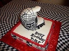 Motocross Cake...super cool!