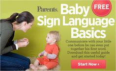 Baby basic signs