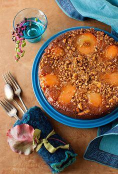 Autumn Pear Cake with Cinnamon and Walnuts by Yelena Strokin, via Flickr