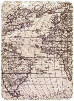 Map Antique