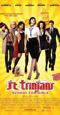 """Directed by Oliver Parker, Barnaby Thompson.  With Talulah Riley, Rupert Everett, Gemma Arterton, Jodie Whittaker. St Trinian's, a school for """"young ladies"""" with its anarchic doctrine of free expression, brings together a motley crew of ungovernable girls who, using their wit and ingenuity, save the school from bankruptcy."""
