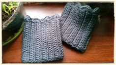 Looking for your next project? You're going to love Simple Scalloped Boot Cuffs by designer ttnhungt.