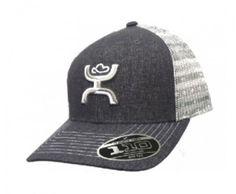 "HOOey ""Storm"" Grey/White Aztec print hat"