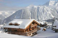 Les Trois Vallees (The 3 Valley's) of the French Alps. Beautiful, amazing skiing.