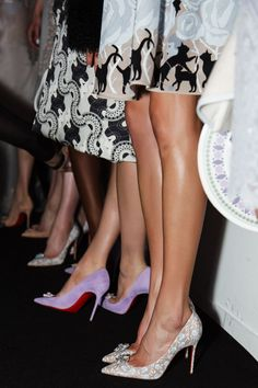 Blog - Christian Louboutin Shoes And Beauty Featured At London Fashion Week