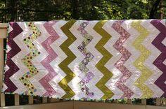 Zig-zag quilt front - horizontal   Flickr - Photo Sharing!