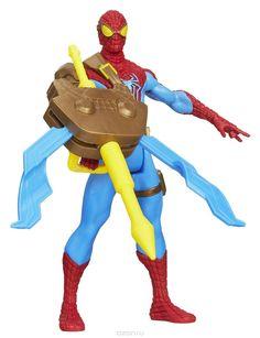 Фигурка Spider-Man Spider Strike. Spider-Man, с аксессуаром, 9,5 см. А5704