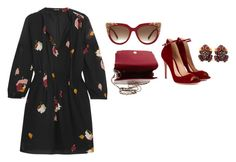 """""""Untitled #20"""" by meetminion ❤ liked on Polyvore featuring MCM, Gianvito Rossi, Madewell and Gerard Yosca"""