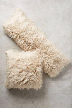 Chroma Faux-Fur Pillow