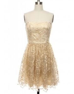 Possible grad dress on lace affair