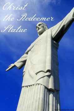 Article on Christ the Redeemer statue atop Corcovado Mountain in Rio de Janeiro, Brazil. Read interesting facts on the famous statue of Jesus Christ in Rio. Brazil Facts, Places To Travel, Places To See, Beautiful World, Beautiful Places, Christ The Redeemer Statue, South America Travel, Future Travel, Christen