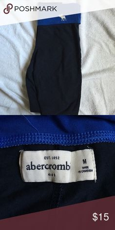 Abercrombie leggings Worn once! Great condition. Abercrombie kids size abercrombie kids Bottoms Leggings