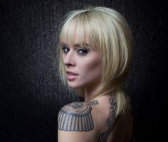 Shoulder Pad Tattoo