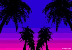 8 Bit Art #vaporwave