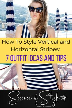 Are you curious about how to style vertical and horizontal stripe outfits? If your answer is yes, I have 7 outfit ideas and tips to feed your curiosity! #verticalstripeoutfit #horizontalstripeoutfit #verticalstripesoutfit #horizontalstripesoutfit Suit Fashion, Daily Fashion, Business Casual Men, Men Looks, Summer Looks, Looking For Women, Fashion Photography, Style Inspiration, Curiosity