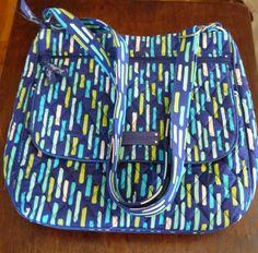 Vera Bradley Mailbag Katalina Showers Crossbody Purse Bag #VeraBradley #MessengerCrossBody