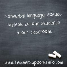 Nonverbal language s