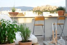 Rent the apartment LIVE IN in Athens for less with Only-Apartments. Holiday Apartments, Rental Apartments, Greece Travel, Folding Chair, Athens, Bar Stools, Luxury, Live, Furniture