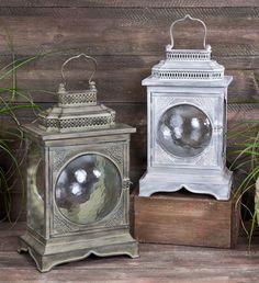 vintage lanterns...