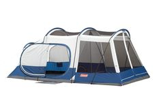 Amazon.com : Coleman 17- by 9-Foot 6- to 8-Person Screened Weathermaster Elite Tent : Sports & Outdoors