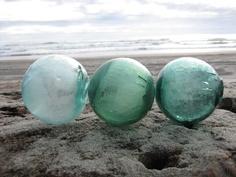Cedar Fishing Corks Alaska Beach Combed