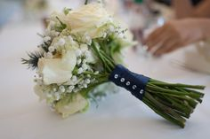 White bridal bouquet at Compton Acres, The Italian Villa, Poole Compton Acres, Italian Villa, Beautiful Bouquets, Second Weddings, White Bridal, Real Flowers, Pretty Good, Summer Wedding, Wedding Photography