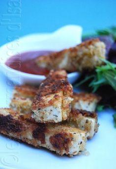 Bâtonnet de Tofu! C'était Excellent! Miam!