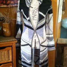 $198 Free People Lima Aztec Maxi Cardigan XS Free People $198 Lima Aztec Maxi Knit Cardigan,size xs. Worn twice and in great condition! Free People Sweaters Cardigans