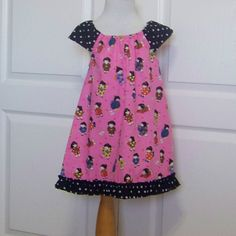 Girls Pink Tunic or dress.   Infant and Toddler Pink Dress or