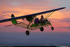 Breezy - A Homebuilt Airplane. LOVE the paint job!