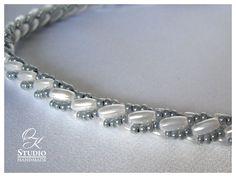 турецкий жгут из бисера и риса Bead Crochet, Bracelets, Helmet, Beaded Necklace, Beads, Artwork, Silver, Handmade, Beautiful