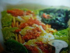 ricette con la verza - sformato con salsiccia
