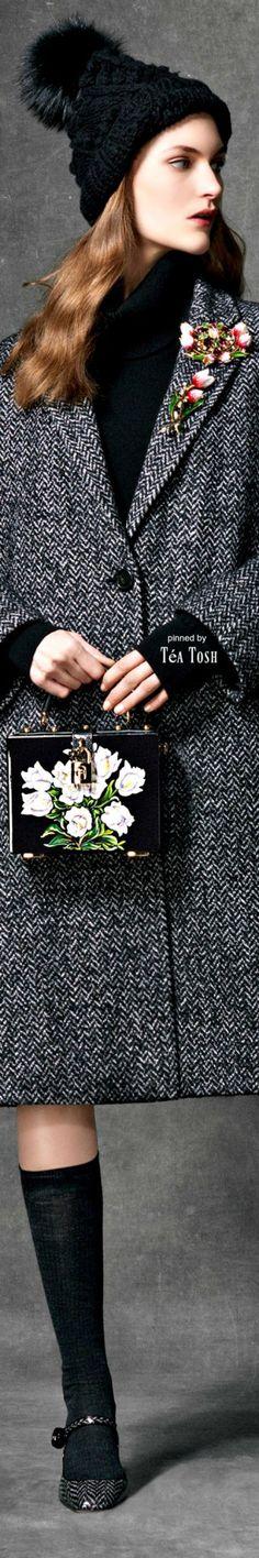 ❇Téa Tosh❇ Dolce & Gabbana, Wonderland Collection, Fall Winter 2016,17