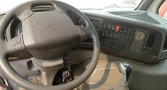 Driving panel on HOWO HW76 cab, right hand driving, China truck supplier.