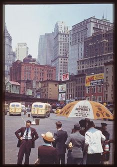 Kodachrome Photos of 1940s New York City