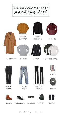 Minimal Cold Weather Packing List - This Mom's Gonna SNAP! minimal cold weather packing list, packing list for the midwest, packing for winter in a carry-on, winter essentials Winter Essentials, Capsule Wardrobe, Flight Outfit, Winter Travel Outfit, Travel Outfits, Outfit Winter, New York Winter, Chicago Winter, Winter Holiday