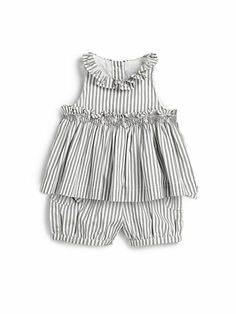Tartine et Chocolat - Infant's Two-Piece Striped Dress & Bloomers Set - Saks.com