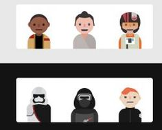 HTML CSS Star Wars Characters