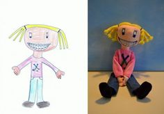 Artist Turns Children's Drawings Into Real Toys