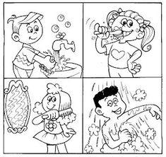 ESPAÇO EDUCAR: 50 atividades sobre higiene e hábitos saudáveis para imprimir
