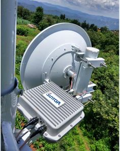 Outdoor 30-50 km ultra long range point to multi-point wireless mesh bridges, with 2.4G 5G dual band, good choice for large CCTV project. More detail you can see: https://youtu.be/TrfSKLMW0Dw