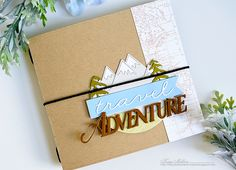 Adventure Mini Album by Kay Miller for Papertrey Ink (July 2016)