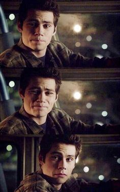 Teen Wolf ~ Stiles - His reaction to Scott's awful tattoo - S3a
