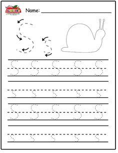 Free Prinatble Aphabet Pages ~Preschool Alphabet Letters Trace Preschool Writing, Preschool Alphabet, Preschool Lessons, Alphabet Activities, Preschool Learning, Preschool Activities, Teaching, Tracing Worksheets, Alphabet Worksheets
