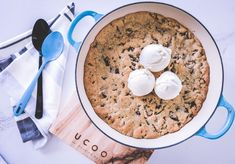 Gooey Giant Oreo Stuffed Cookie – Culinary Cartel Oreo Cookies, Cereal, Oatmeal, Sweets, Breakfast, Food, The Oatmeal, Morning Coffee, Gummi Candy