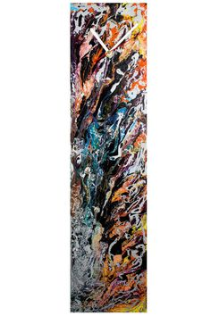 A handmade modern retro abstract glass wall or by ReformationsUK