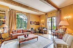 On the Market: October 2013 MOUGINS, FRANCE Property Values: Measuring nearly two and a half acres, the manicured lot offers a pool and a poolhouse that contains a fitness center, hammam, and Jacuzzi.