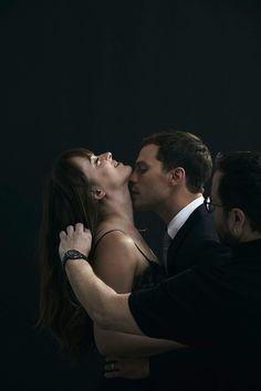 Dakota y jamie 50 Shades Trilogy, Fifty Shades Series, Fifty Shades Movie, Fifty Shades Darker, Fifty Shades Of Grey, Christian Grey, Jamie Dornan, Passionate Couples, Mr Grey